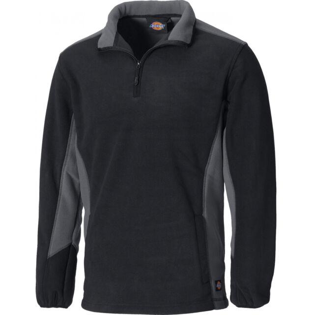 Dickies Fleece-Pulli Industry grau JW7011 GYB XL schwarz Größe XL