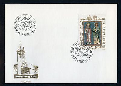 Treu Liechtenstein Nr.734 Est Schmuck-fdc 20fr 136622 Landespatrone !!! Angenehm Zu Schmecken