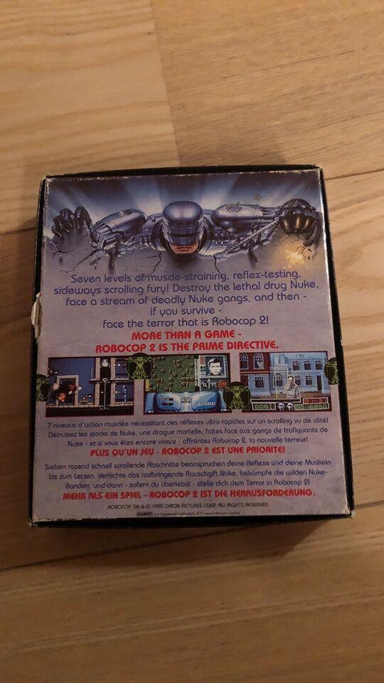 Robocop, Amiga Spil