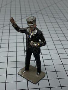 J-Hill-amp-Co-034-Lionel-034-Lead-Figure-Prewar-England-copy-right-Conductor-Train