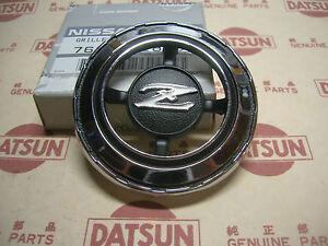 Datsun 240z Fairlady Quarter Side Round Emblem Lh Genuine