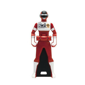 Details about Power Rangers Sentai Legend Mini Key Super Megaforce BIOMAN  Red Ultra Rare
