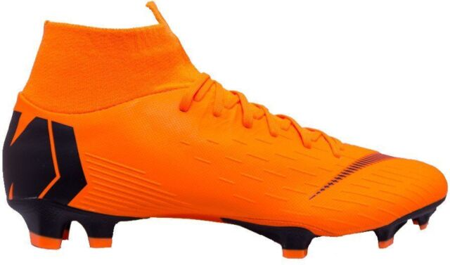 a370cec0a6d5 Nike Mercurial Superfly 6 Pro FG ACC Soccer Cleats Ah7368 Orange Black 810  Sz 10