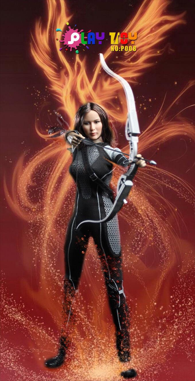 Play Toy - Athletics Girl - HUNGER GAMES - Katniss Everdeen 1/6 Scale UK SELLER