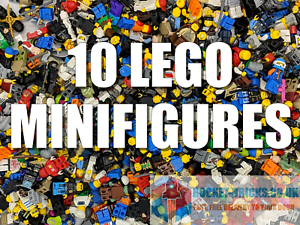 LEGO-Minifigures-10-Genuine-LEGO-Minifigures-mixte-Job-Lot-vrac