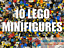 LEGO-MINIFIGURES-10-GENUINE-LEGO-MINIFIGURES-MIXED-JOB-LOT-BULK thumbnail 1