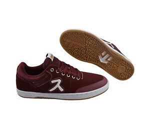 Skater schuhe Etnies X ups Sneaker Rot Marana Burgundy Hook UxXr0nXqz
