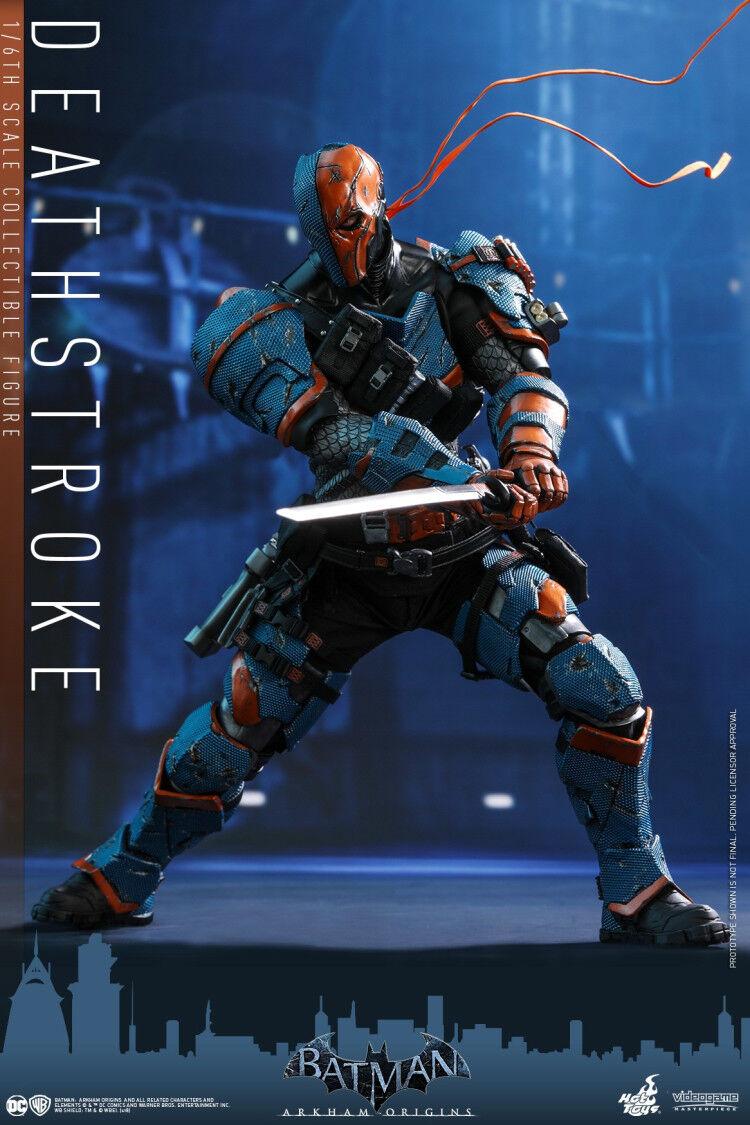 Hot Juguetes 1 6 VGM30 Batman Arkham Orígenes Deathstroke modelo de cuerpo Figura De Acción