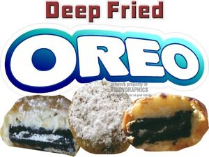 DEEP-FRIED-OREO-VINYL-DECAL-CHOOSE-SIZE-CONCESSION-STAND-BOARDWALK