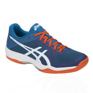Asics-Homme-Gel-Tactic-2-Cour-Chaussures-Bleu-Sport-Respirant-Leger-Baskets