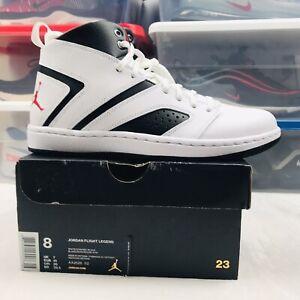 New-Nike-Air-Jordan-Flight-Legend-White-Red-Black-AA2526-112-Men-s-Size-8