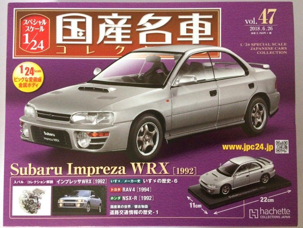 1 24  voitures japonaises collection (47) Subaru Impreza WRX  DIE-CAST Hachette  économiser jusqu'à 80%
