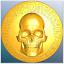 Petrobond-Delft-Clay-Push-Mold-Pattern-Harley-Skull-Pattern thumbnail 1