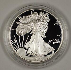 1994 American Silver Eagle ASE  BU in Deluxe Case