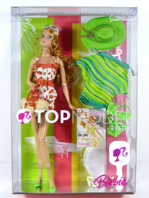 Top Model Resort Teresa Barbie Doll With Accessories 2007 M5804 For Sale Online Ebay