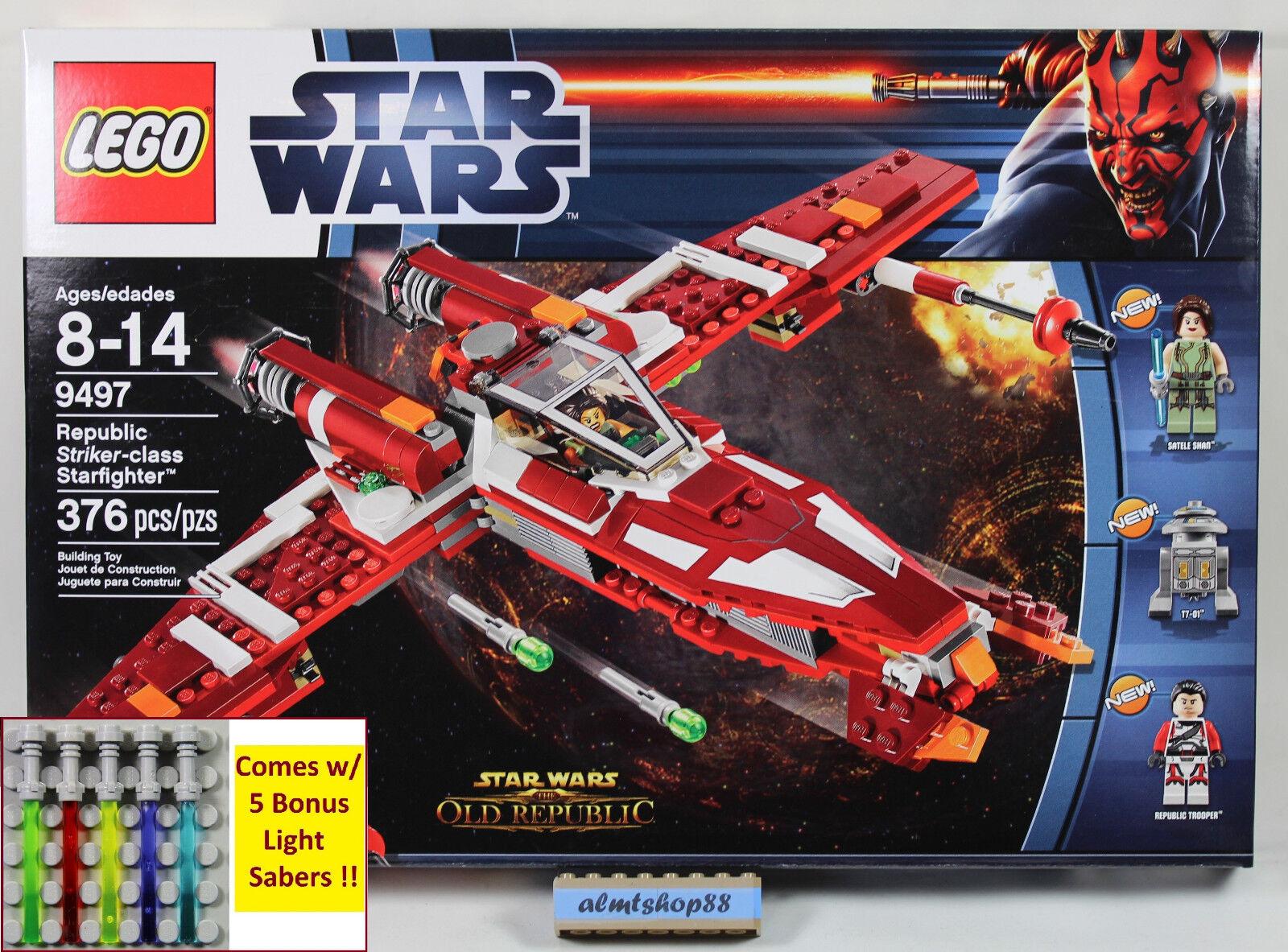 LEGO estrella guerras  - 9497 Republic Striker-classe estrellacombatiente Jace Malcom Minicifra  ultimi stili