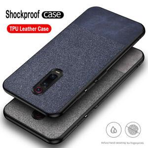 Per-Xiaomi-Mi-9T-Pro-Redmi-K20-SLIM-in-tessuto-morbido-Pro-TPU-Custodia-Custodia-Pelle-Cover-opaca