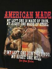 Left One Right One Pit Bulls Size Youth Medium to 6 X Large T Shirt Pick Size