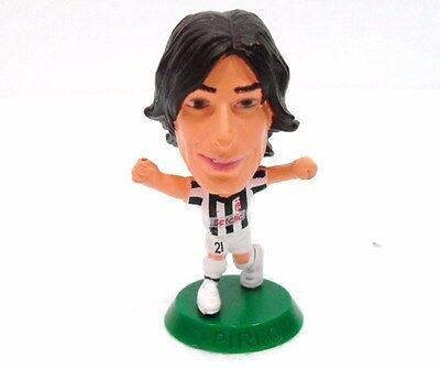 """Analitico Juventus - """"pirlo"""" - Cm. 6,4-figura Plastica Limpid In Sight"""