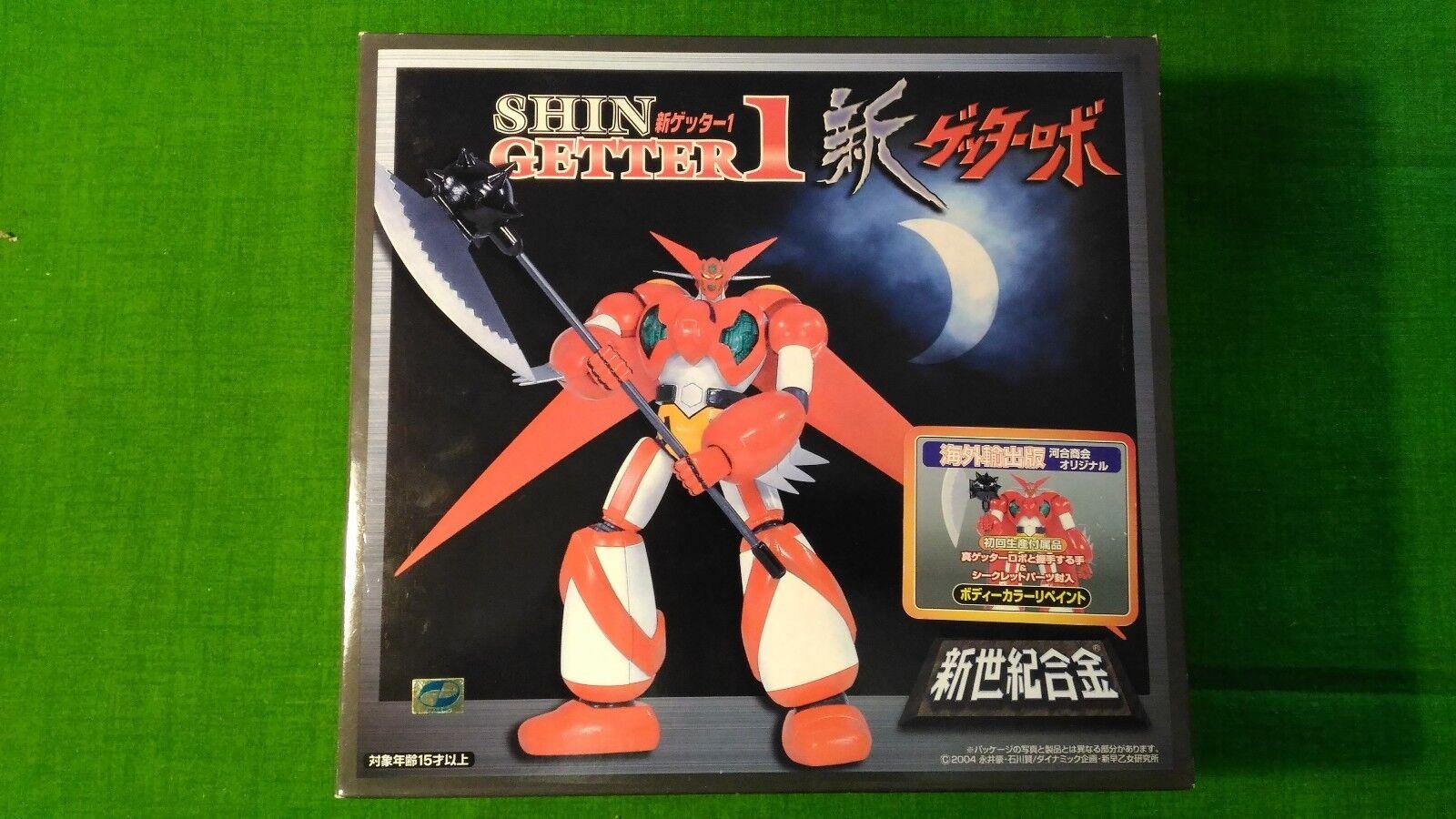 Diecast Shin Getter 1 SG-06 Edition Oversea Special edition 2004 Aoshima