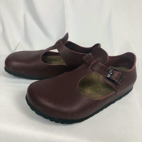 Birkenstock Paris Shoes Women's Size 6-6.5 - Maroo