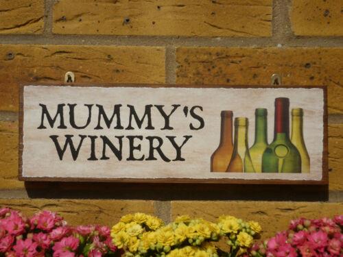 Abri de jardin personnalisé signe signe Winery Cadeaux pour elle cadeaux pour femmes Mummys