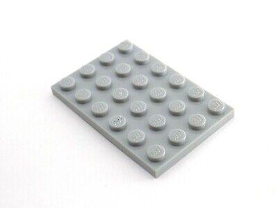- 3031 8 Pieces 8 LEGO Dark Grey Plate Base Board 4 x 4