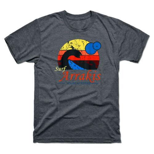 Surf Arrakis House Atreides Vintage Retro T-Shirt Men/'s Shirts Tee