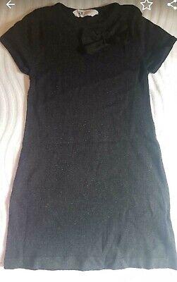 mädchen h&m glitzer kleid 110 116 | ebay