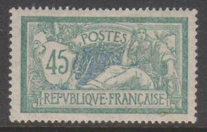 FRANCIA-1906-45c-sono-TIMBRO-M-M-SG-304