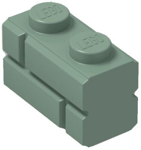 ☀️Lego x50 SAND GREEN 1x2 Masonry Bricks building Part Pieces Bulk Lot #98283