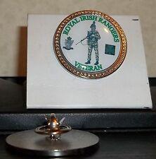 HM Armed Forces The Royal Irish Rangers Veteran lapel pin badge .