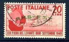 TRIESTE A - 1949 FIERA DEL LEVANTE DI BARI USATO