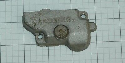 1955 65 METERING ROD COVER WITH VENT CARTER WCFB CORVETTE CHEVY 283 327 348