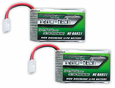 2x Turnigy Nano-Tech 750mAh 1S 35C~70C LiPo -Syma X5C X5SW X5C-1 Battery Upgrade