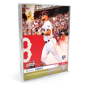 2019-Boston-Red-Sox-MLB-TOPPS-NOW-London-Series-15-CardS-YOU-PICK