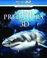 OCEAN PREDATORS 3D New Sealed Blu-ray 3D + Blu-ray