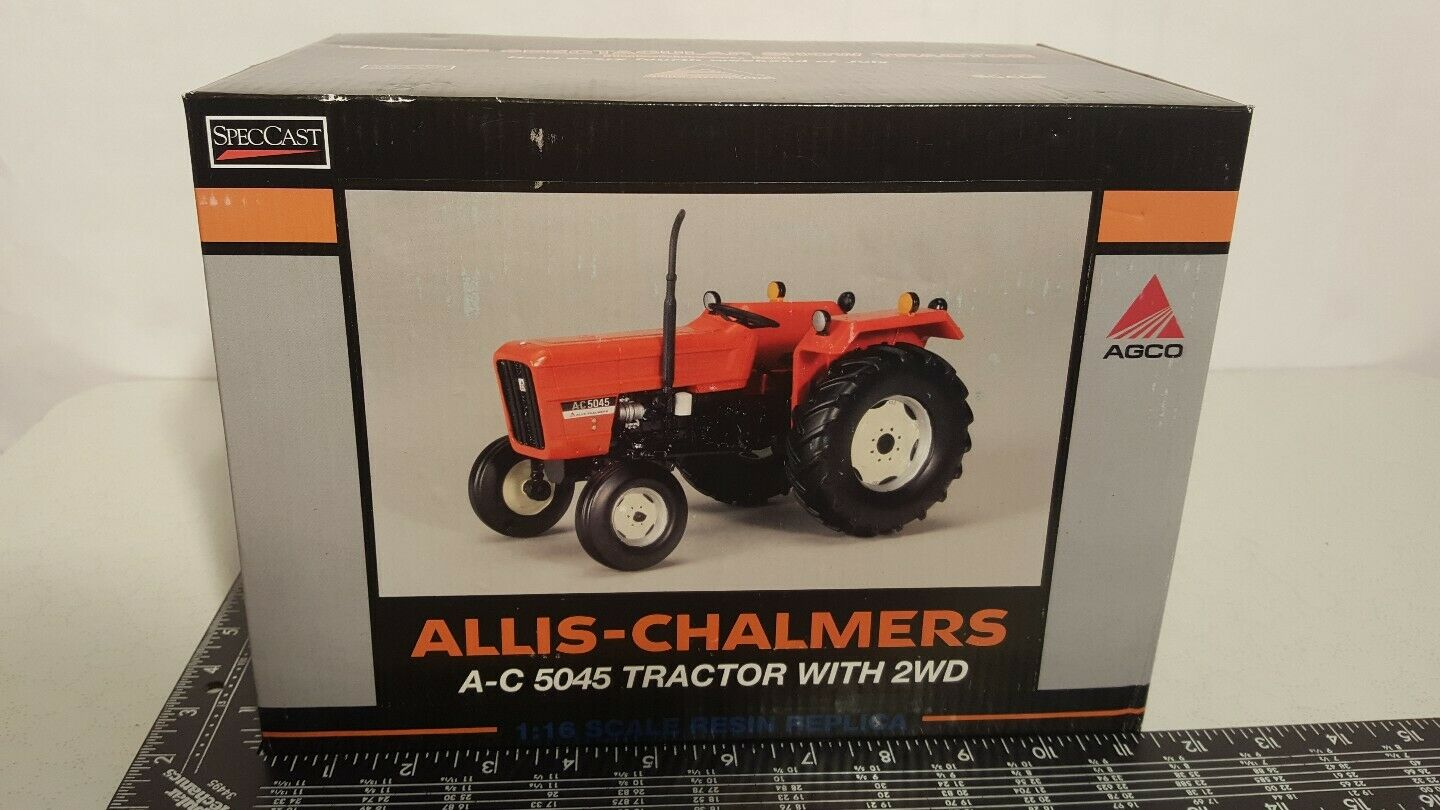 Allis Chalmers 5045 1 16 resin farm tractor replica collectible by SpecCast