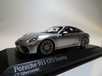 Minichamps 1:43-410 991 II - tiefschwarz met - 1 of 504 Porsche 911 GT3