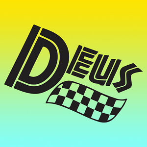 Deus Ex Machina Vinyl Sticker Decal x 2