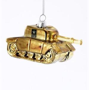 Kurt-Adler-US-United-States-Army-Tank-Figural-Military-Christmas-Ornament