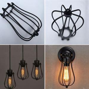1PC-laiton-antique-fil-de-fer-ampoule-cage-lampe-garde-abat-jour-vintage-trouble-lumiere-nouveau