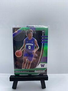 Jaden McDaniels 2020-21 Panini Prizm Draft Picks #51 Green Prizm Rookie RC🔥🏀