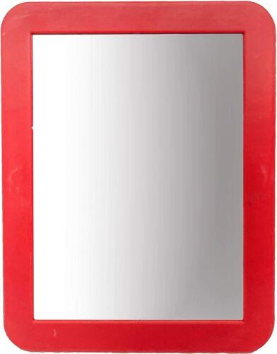 "Black Duck Brand Magnetic School Locker Mirrors 5.25/"" x 6.75/"" Assorted Colors"