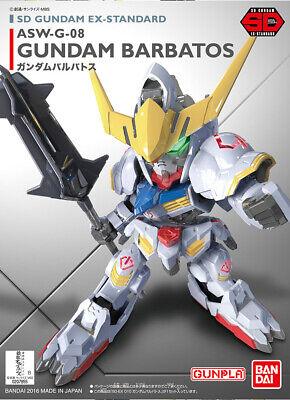 Asw-g-08 Gundam Barbatos Gunpla Ex-standard #010 Iron-blooded Orphans Bandai