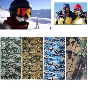 Camo-Tube-Scarf-Headband-Face-Mask-Warmer-Bandana-Multi-Function-Headwear-AU