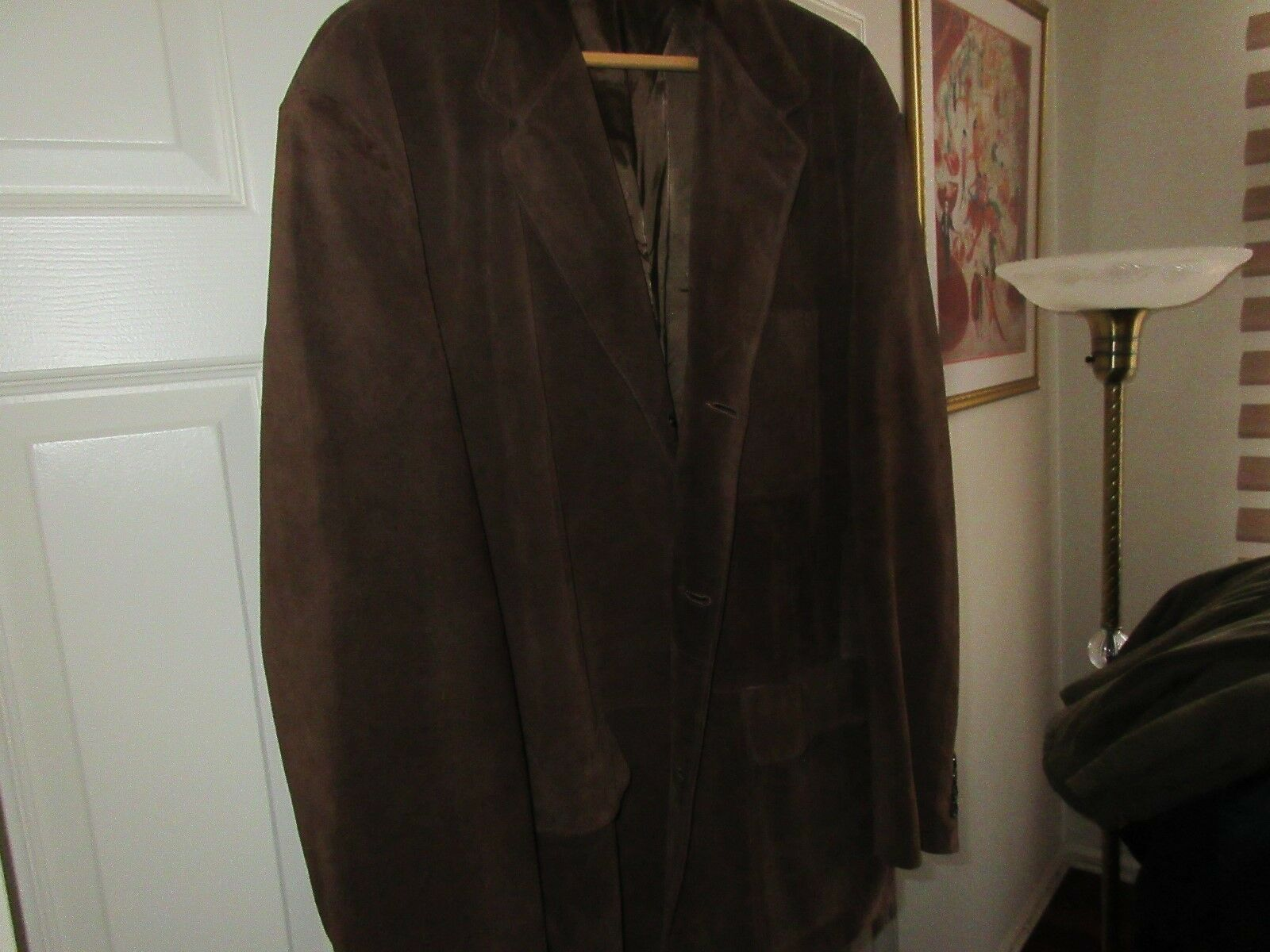 Banana Republic , Mens Leather Jacket , Size XL , Lined