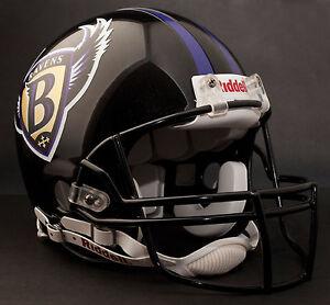 Baltimore Ravens 1996 1998 Riddell Authentic Throwback Football Helmet Nfl Ebay