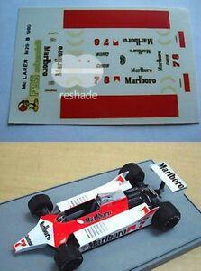 DECALS-KIT-1-43-F1-mclaren-m29b-1980-WATSON-PROST-FDS-AUTOMODELLI