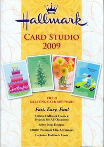 Hallmark card studio 2009 greeting card software 5000 cards and image is loading hallmark card studio 2009 greeting card software 5000 m4hsunfo
